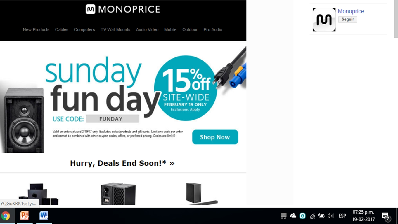 Nov 06,  · 20% Off $ Orders With Monoprice Coupon Code. Buy Now! Impressive savings are waiting on you. Shop this offer and use Monoprice promo code. 20% off $ orders.