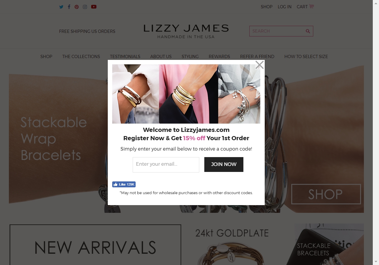 Lizzy james coupon code
