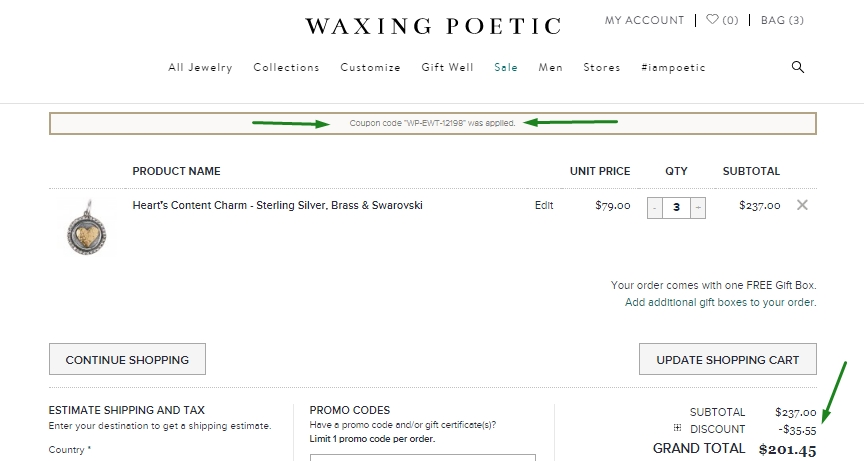 Get 12 Waxing Poetic coupon codes and promo codes at CouponBirds. Click to enjoy the latest deals and coupons of Waxing Poetic and save up to 50% when making purchase at checkout. Shop forexnetwork.tk and enjoy your savings of November, now!