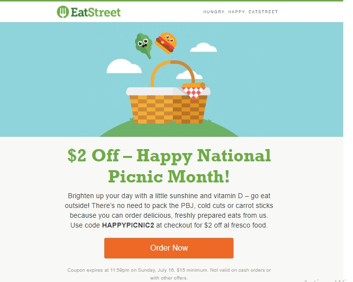 Eat street coupons