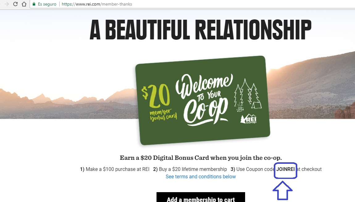 rei membership coupon code