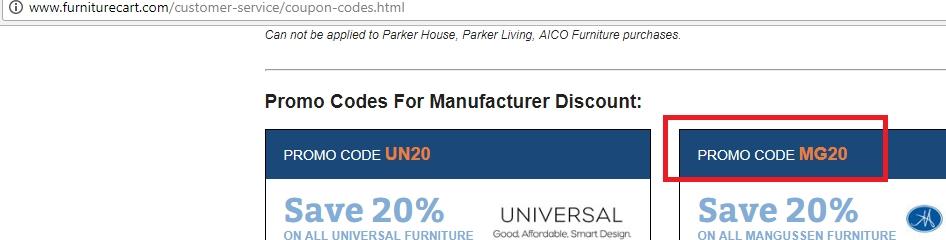5% f Furniture Cart Coupon Code