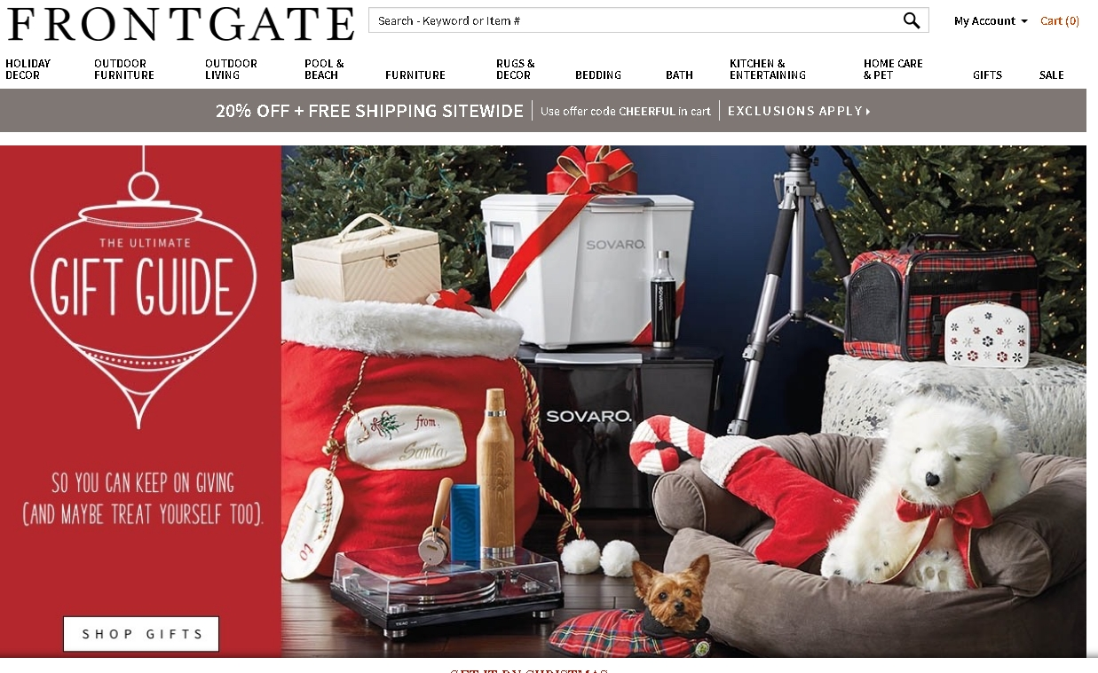 75% Off Frontgate Coupon Code
