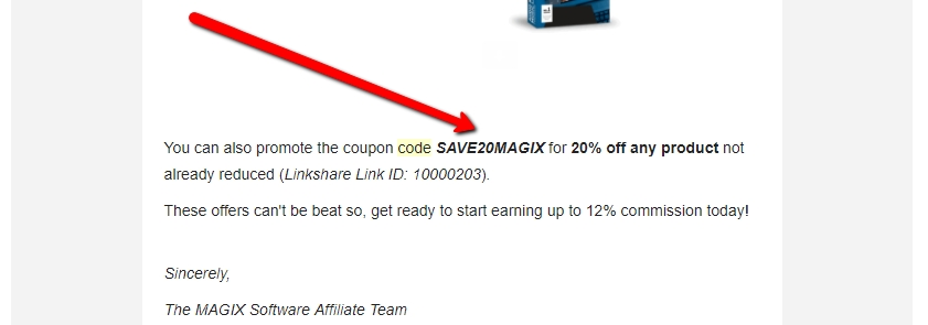 Magix coupon code