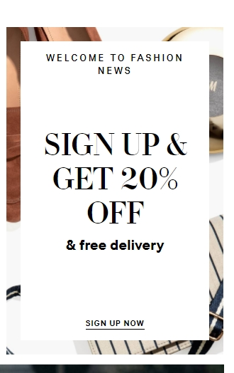 H&M Tips & Tricks: On top of getting exclusive offers and styling tips, signing up for H&M's newsletter with an email address will give you 20% off one item of your choice, in addition to free shipping on your first order online or in store.