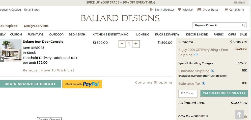 Ballard designs coupon code free shipping