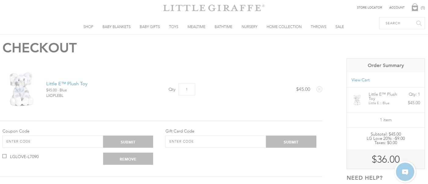 Little giraffe coupon code