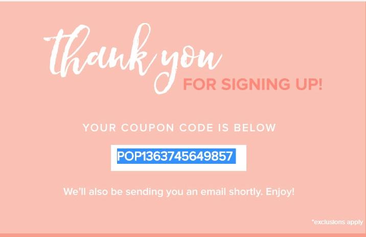 Francesca's coupon code