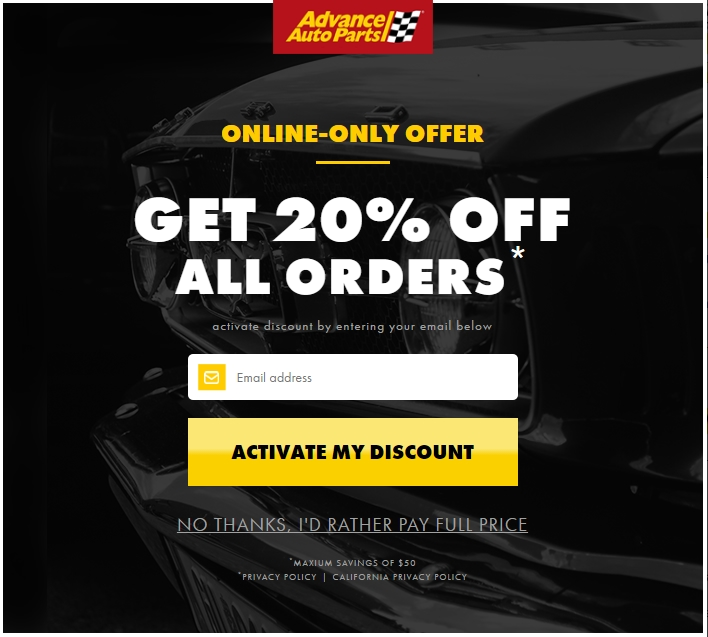 Advance auto coupons codes 2019
