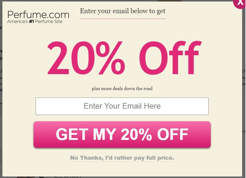 Perfume Coupon Codes: Save 20% w Dec. CouponsHuge Selection · Discount Prices · Great Deals · Coupon Codes.