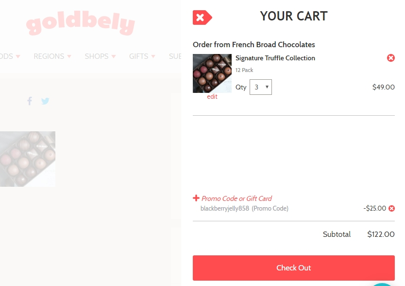 Goldbely coupon code