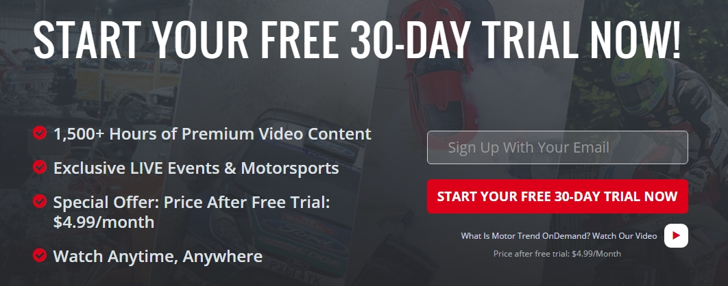 75 off motor trend coupon code motor trend 2018 codes for Motor trend on demand promo code