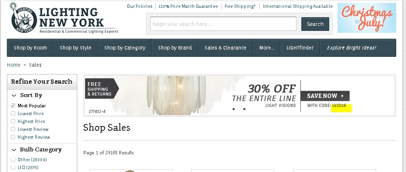 New york lighting coupon code