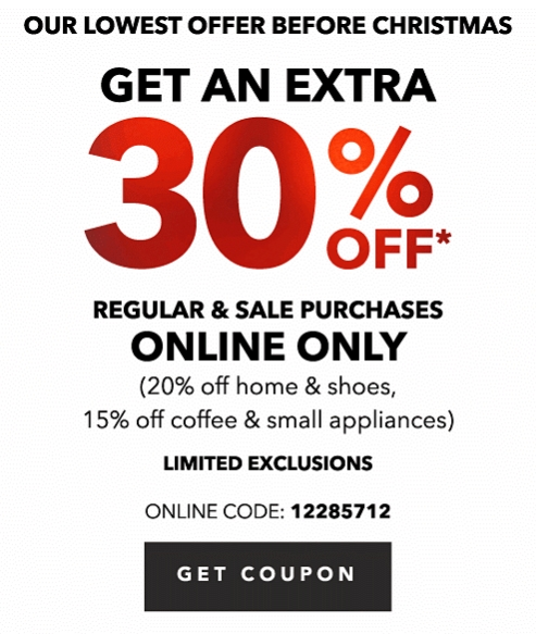 Kohls coupon code 30 off
