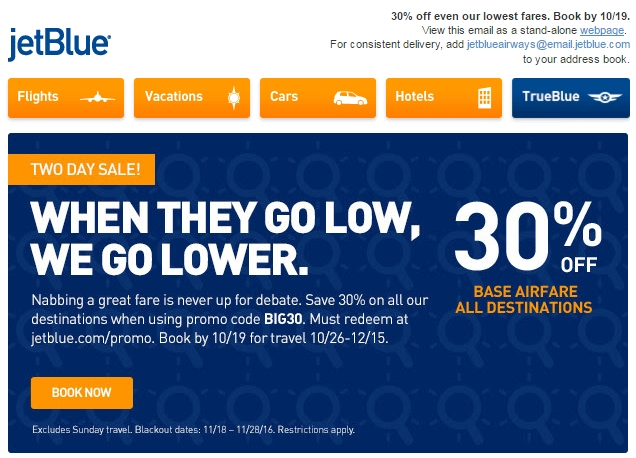 Jet Blue has been a destination for the value-conscious traveler since the company debuted in , offering discount flights across the US. But now, you can find even better deals and steeper discounts when you put together packages with Jet Blue Vacations.