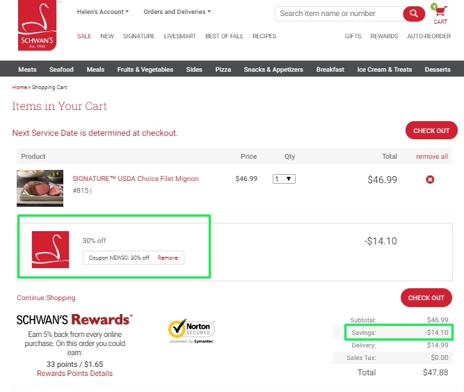 Schwans coupons august 2018