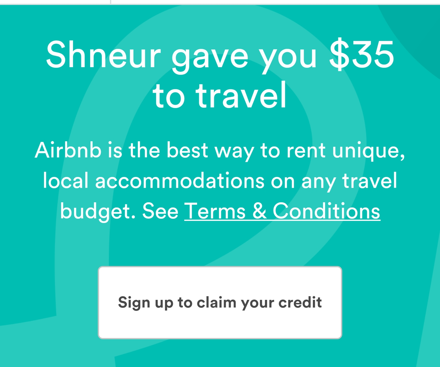 Coupon code air bnb