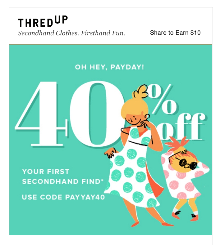 Thredup coupon code 2018