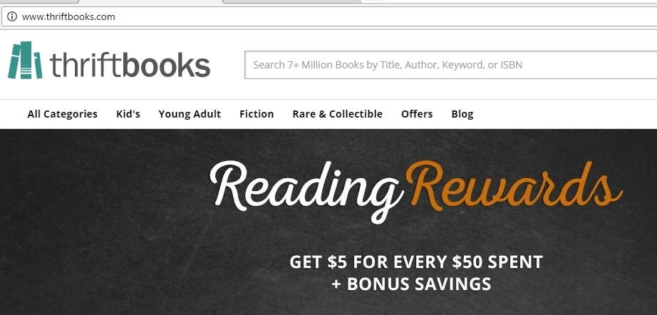 Coupon code for thriftbooks