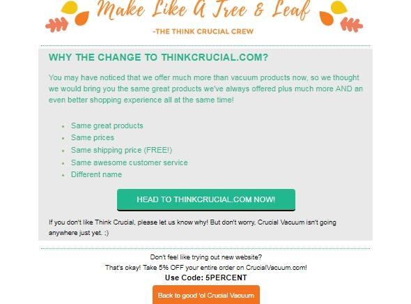 Crucial coupon code