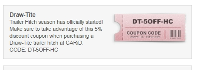 Carid.com coupon code
