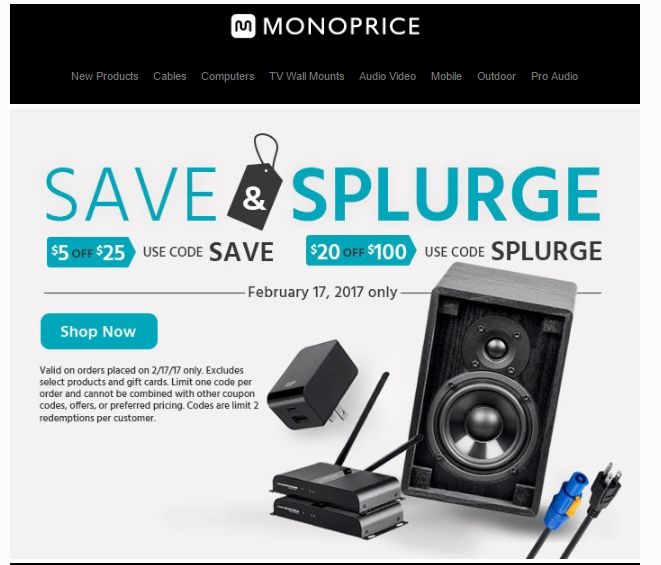 Coupon code for monoprice