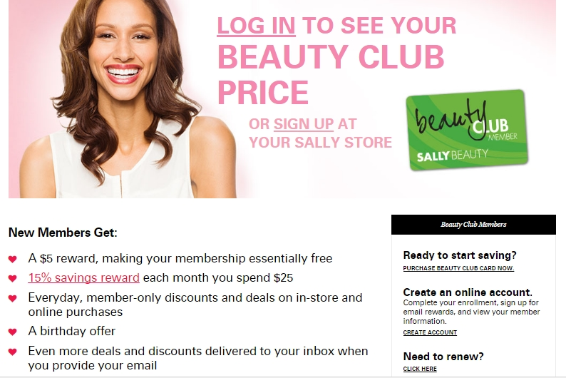Sally beauty rewards coupons