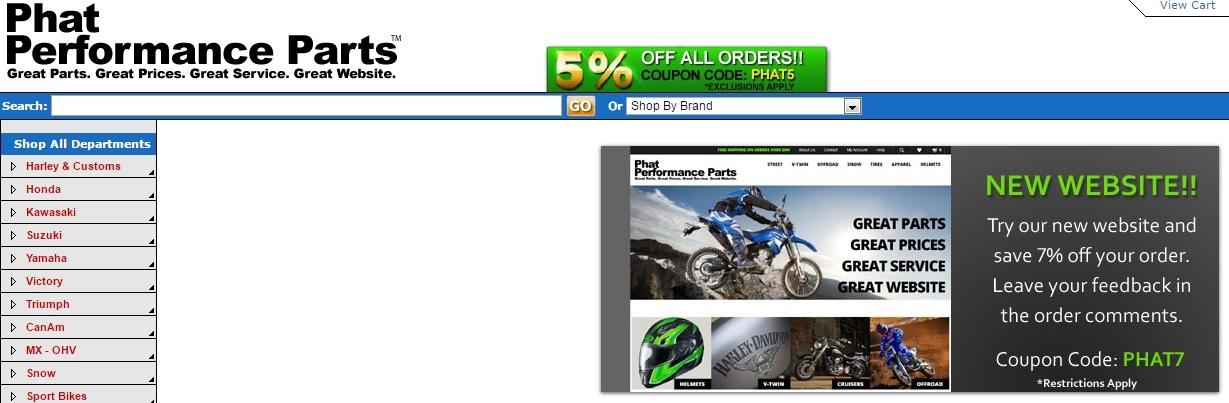 Get a great discount on your online order with these latest Get All Parts coupon codes. Shop the latest collection of Get All Parts from the most exclusive stores all in one place. Receive all such Get All Parts discount promotions for your favorite brand stores.