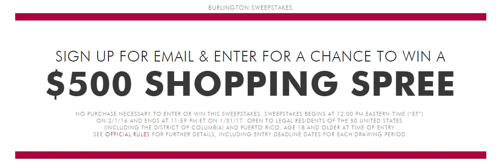 Burlington coupons code