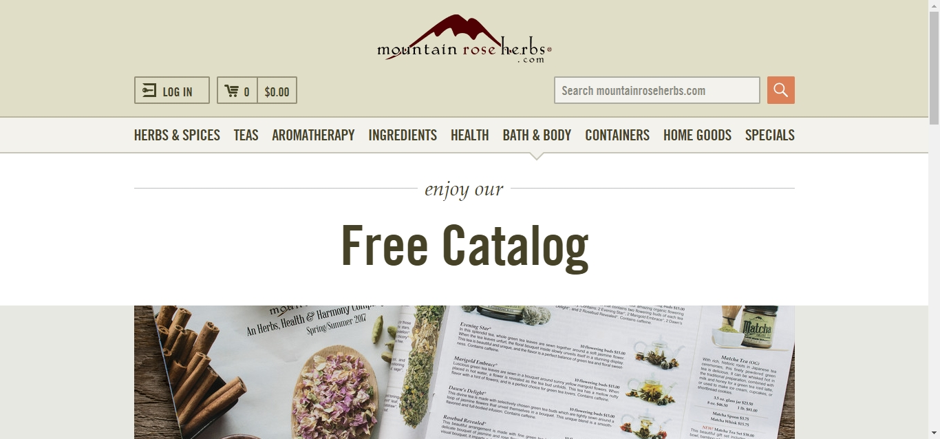 Mountain rose coupon code free shipping