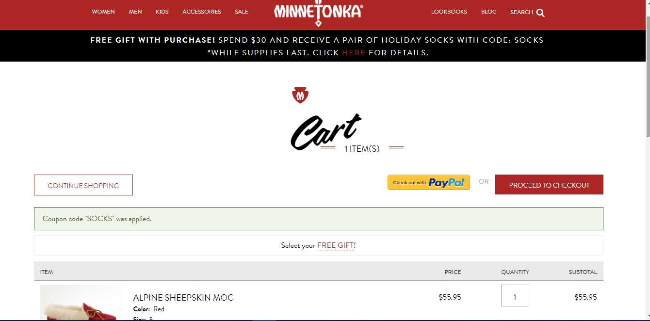 Minnetonka coupon code
