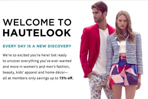 Hautelook discount coupon