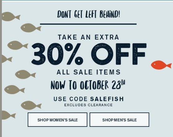 Coupons sperry top sider code