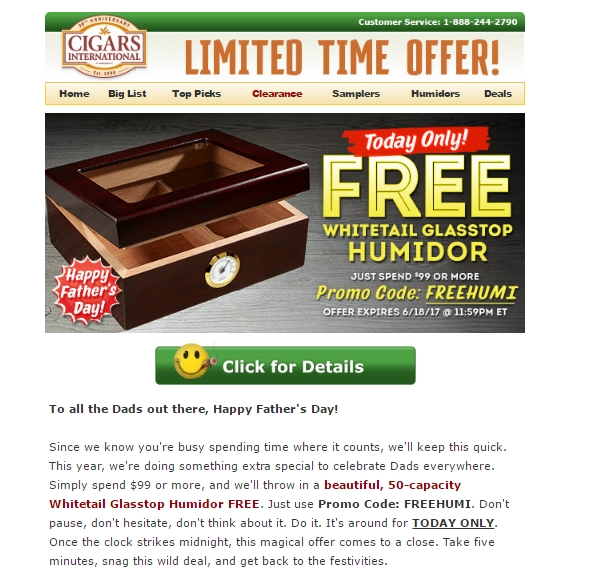 Cigar international coupon code