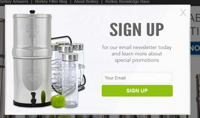 Berkey coupon code