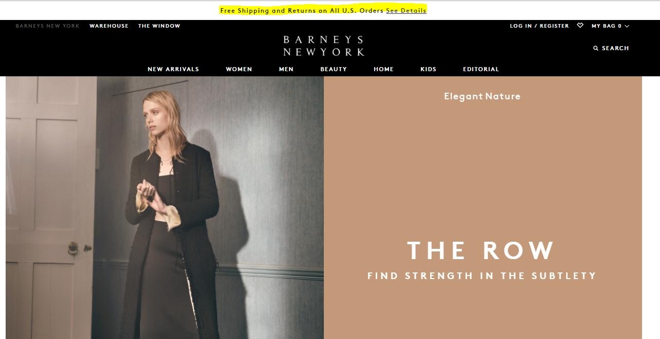 Barneys new york coupons online