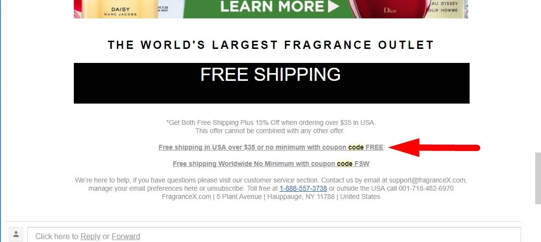 Coupon fragrancex 20