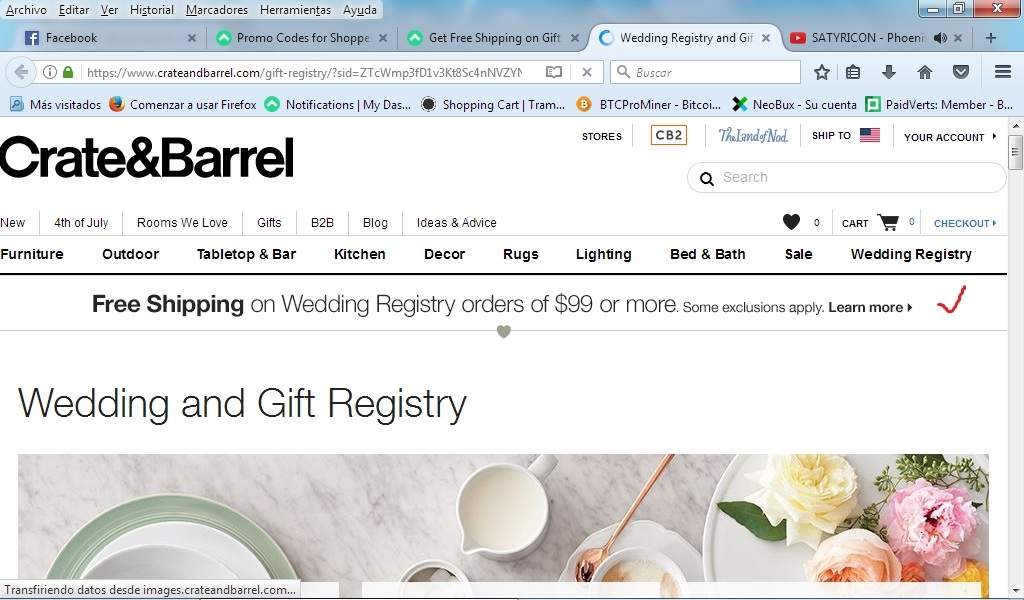 Crate and barrel free shipping coupon code 2018
