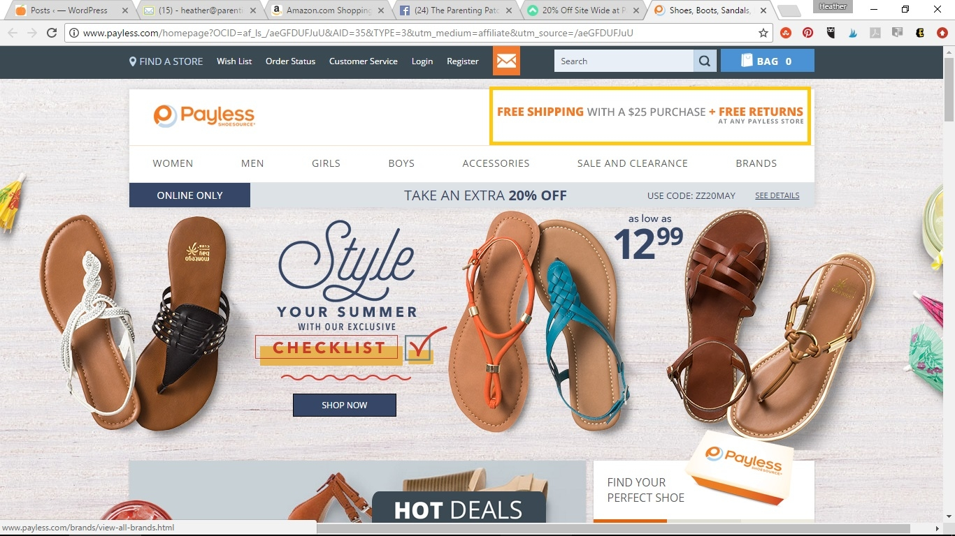 Payless Shoe Store Codes