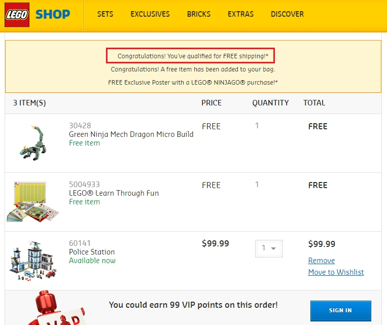 Today we offer you 1 LEGO Promo Codes and 49 deals to get the biggest discount. All coupons and promo codes are time limited. Grab the chance for a huge saving before it's gone. Apply the LEGO Promo Code at check out to get the discount immediately. Don't forget to try all the LEGO Promo Codes to get the biggest discount.