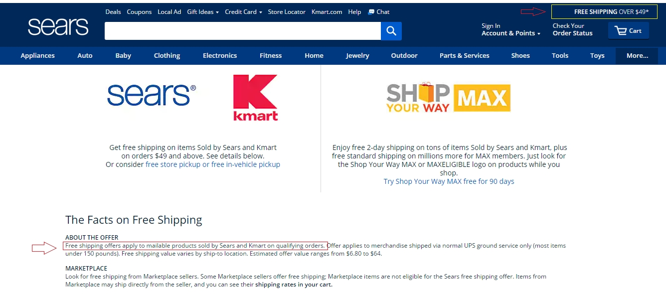 Free shipping has been available at skillfulnep.tk for 0 of the last 30 days. Sears has offered a sitewide coupon (good for all transactions) for 30 of the last 30 days. The best coupon we've seen for skillfulnep.tk was in July of and was for $ off.