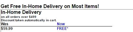 Gandhi appliances coupon free shipping