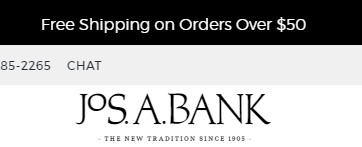 Joseph a banks coupon code free shipping