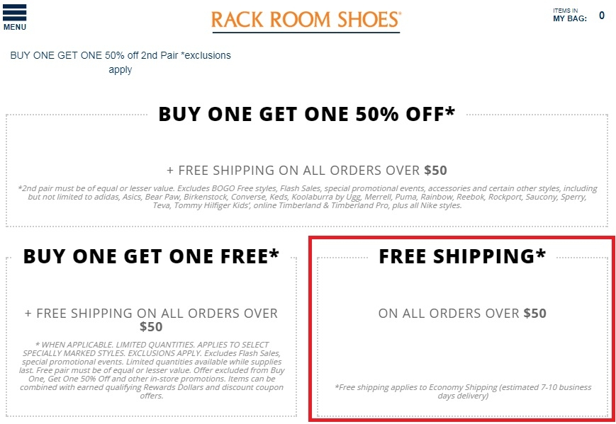 Amazon shoe coupon code