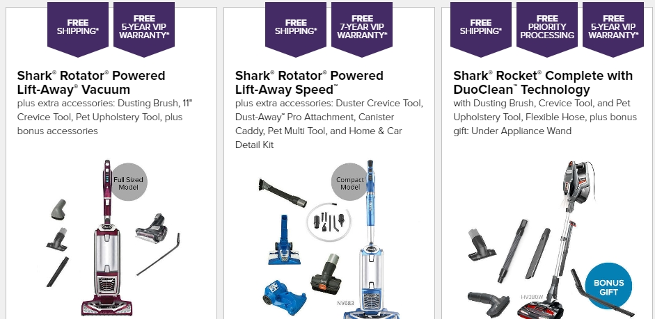 shark vacuum printable coupon