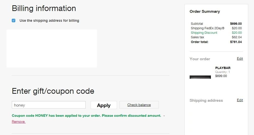 Sonos coupon code