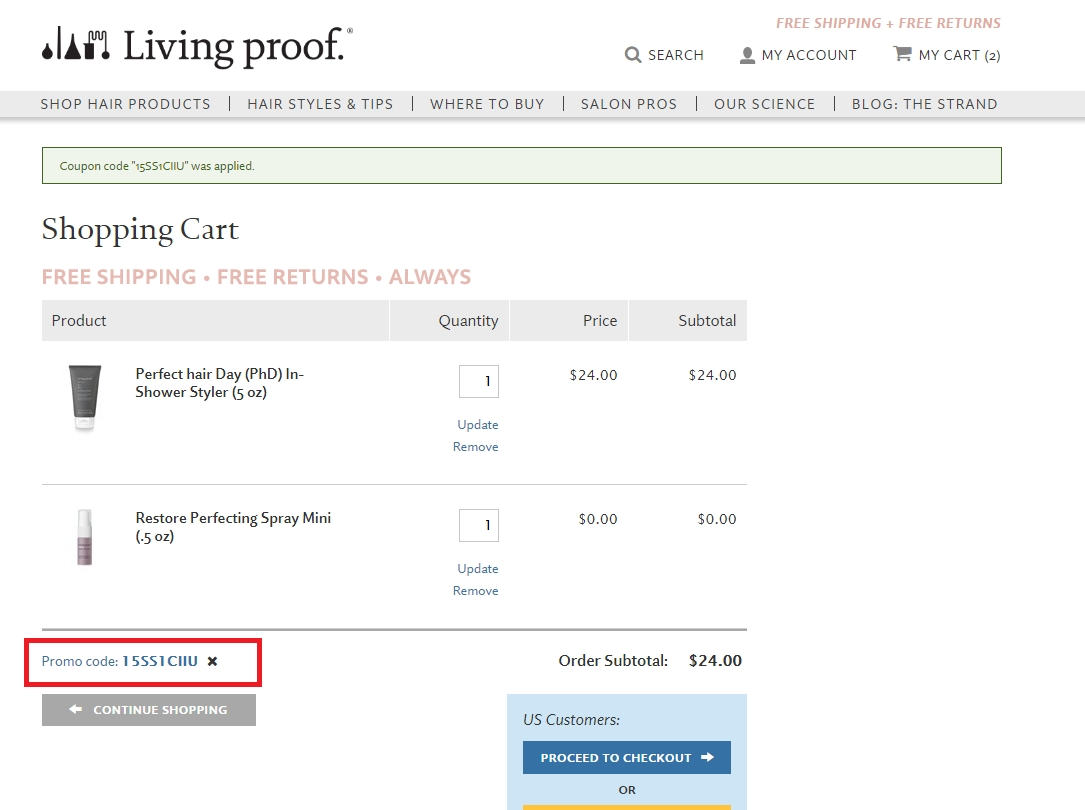 Living proof coupon code