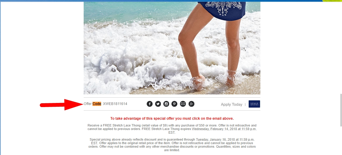 Save with 41 Venus coupons and sales. Get a offer code on women's clothing and swimwear. Today's top deal: Extra 10% Off Sitewide + Free Ground Shipping on All Orders of $75+.
