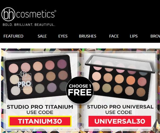 Coupon code bh cosmetics