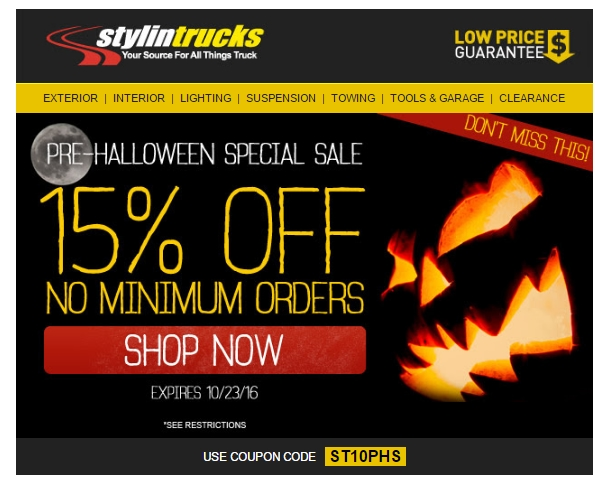 Stylin Trucks Promo Codes for November, Save with 24 active Stylin Trucks promo codes, coupons, and free shipping deals. 🔥 Today's Top Deal: 20% Off Sitewide Over $ On average, shoppers save $26 using Stylin Trucks coupons from pestabrisimpedes.ml